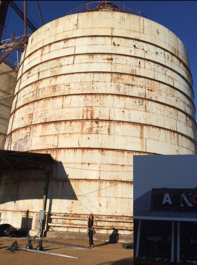 Do these silos make me look thin? ;-)